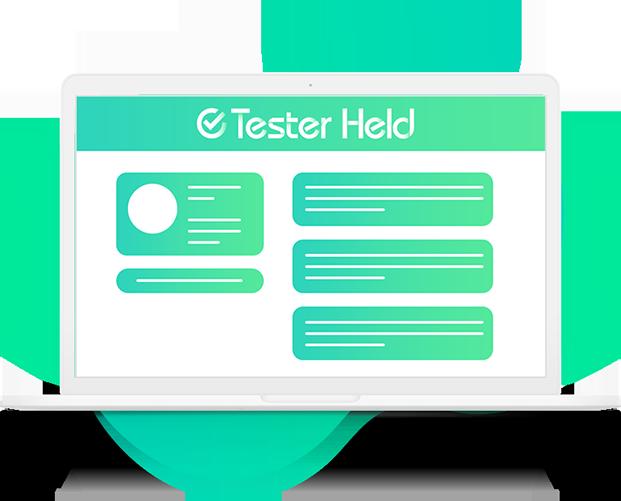 tester held