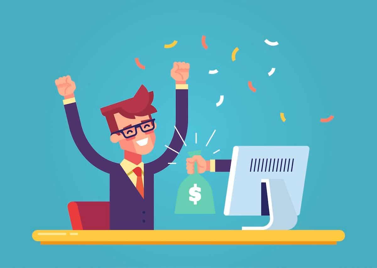 online schnell geld verdienen bild